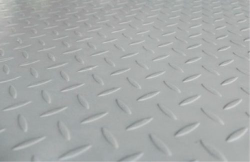 Chequered Plate Effect Surface in Turkey