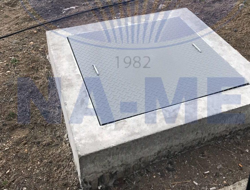 Square Composite Cover