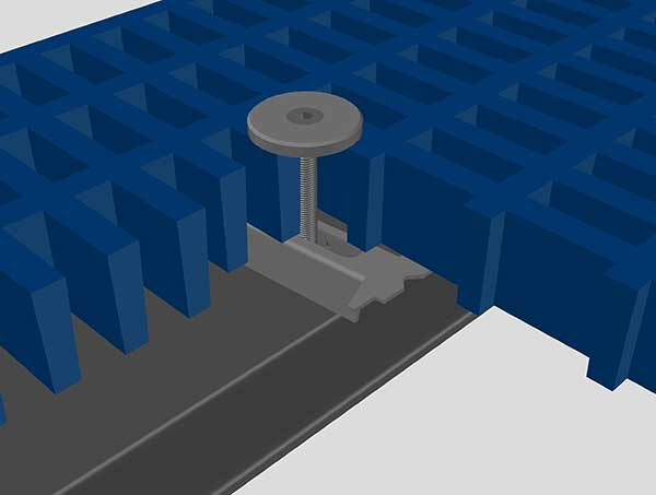 Circular Type Metal Fixings in Turkey