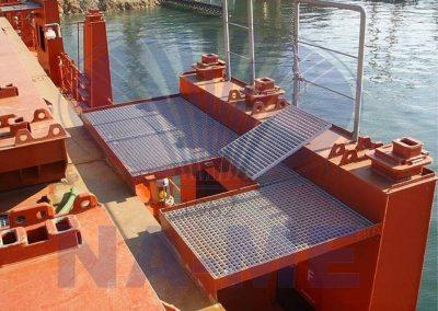 Composite Grating Cover Platform Application