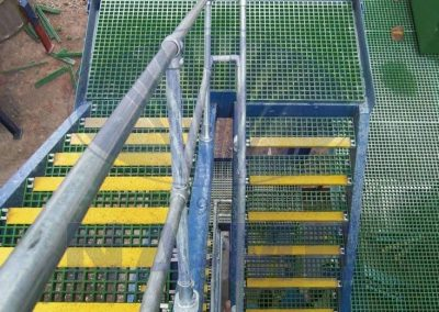 FRP Grating Chemical Facility Platform Application