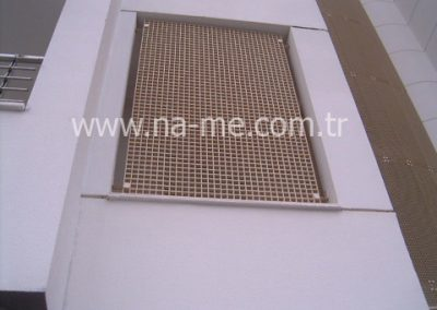 FRP Grating Sun Breaker Application