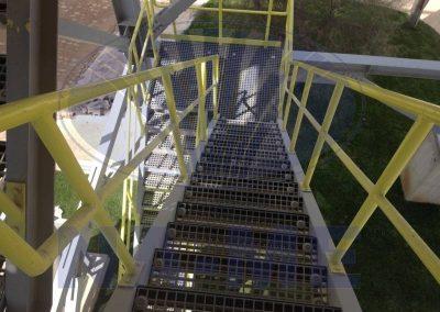 GFK Izgara Basamak ve Merdiven Uygulaması