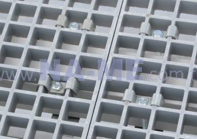 Kompozit Izgara Metal Bağlantı Elemanı ile Uygulama Görseli