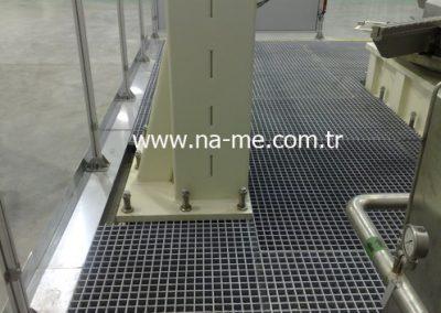 Polyester Izgara Platform Uygulaması